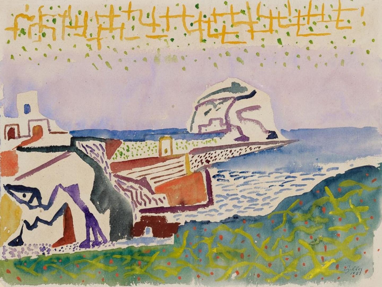 Ischia inspires artists: Werner Gilles